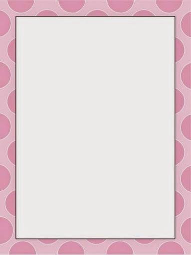 Funny Polka Dots: Free Printable Frames, Borders and ...
