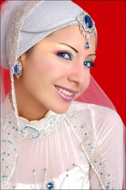 Stylish Wedding Hijab Trends 2012