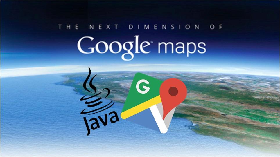Geek On Java Google Map Java Library