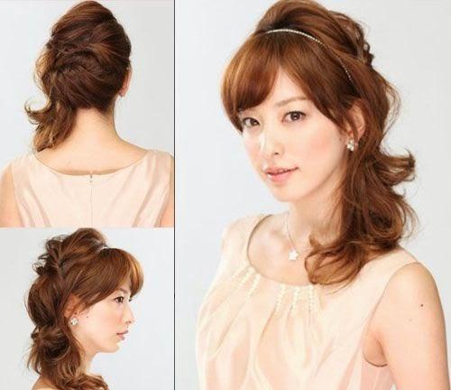 Model Potongan Rambut Wanita Jepang Terbaik