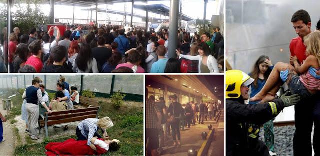 Tragedia ferroviaria en Galicia