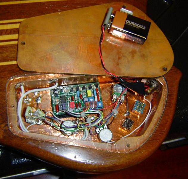 luthier componentes eletronicos guitarra
