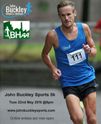 Flat fast 5k in Cork City... Tues 22nd May 2018