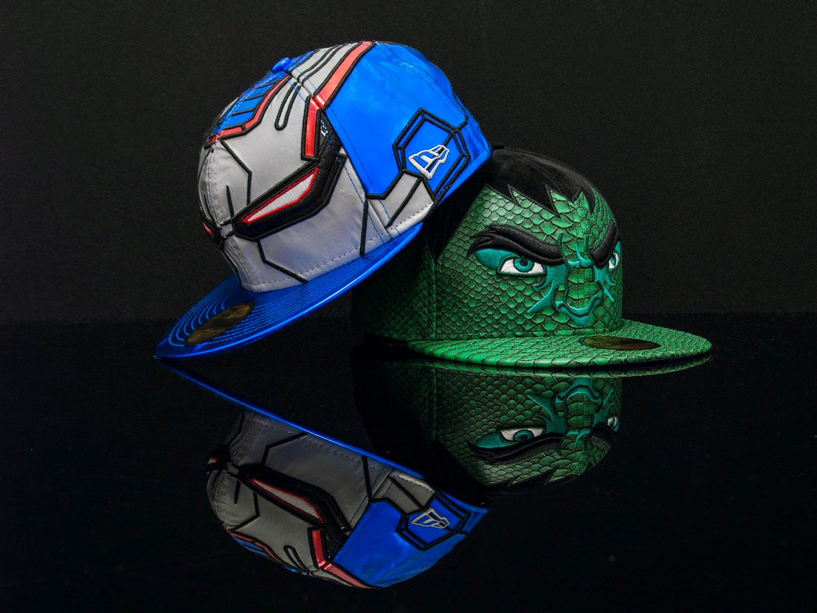 New Era, Avengers Collection, Gorras, Edición Limitada, Comics, Marvel, Coleccionista, Hulk, Capitan America, Ironman, Fashion Style, Cool