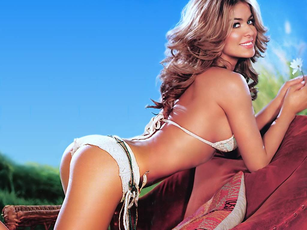 Think, Carmen electra naked wallpaper something is