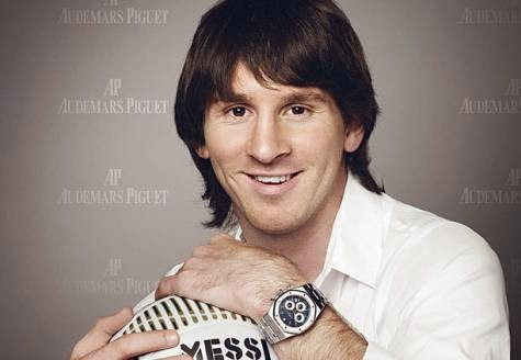 Messi young