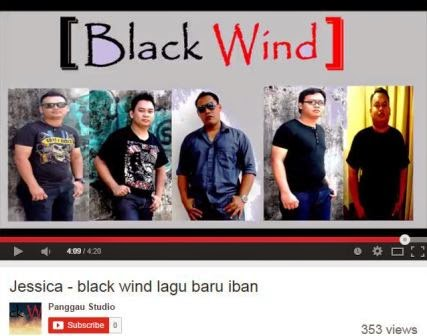 Black Wind Band (Iban Band) - Jessica