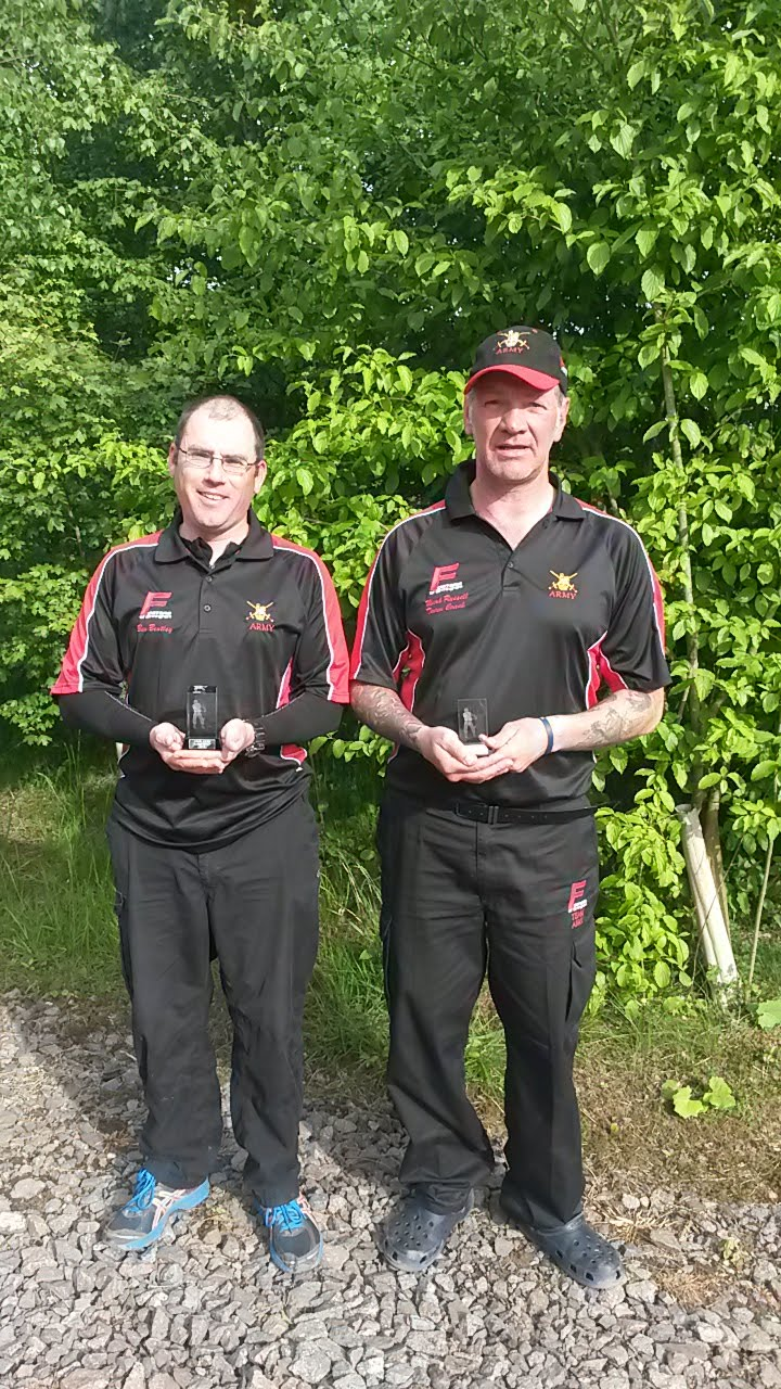 Army HQ Pairs Runners up 2015