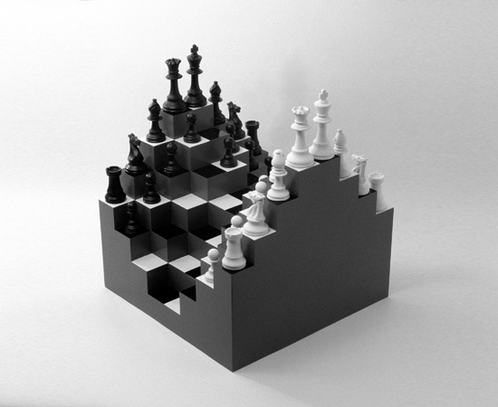 20 creative and unusual chess sets