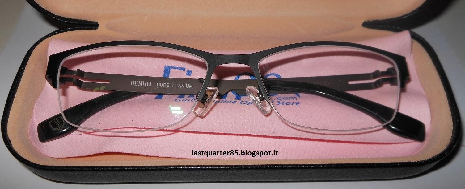 I miei occhiali Firmoo!