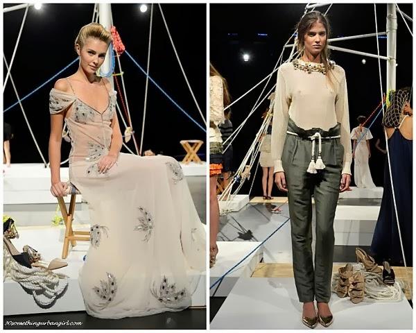 Candela S/S2014 runway dresses