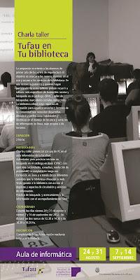 Afiche TuFAu en TuBiblioteca