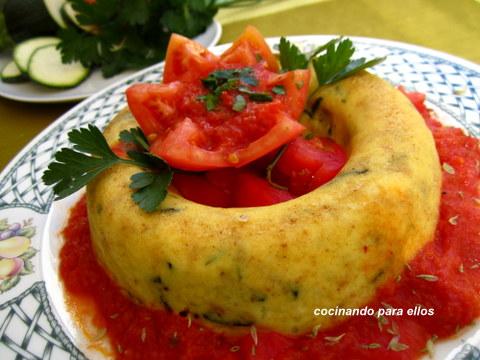 Cocinando para ellos corona de calabacin - Cocinando para ellos ...