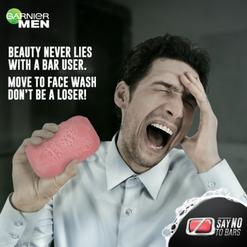 #SayNoToBars with Garnier Men Facewashes