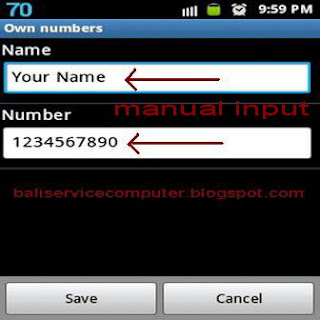 forgot own number phone android