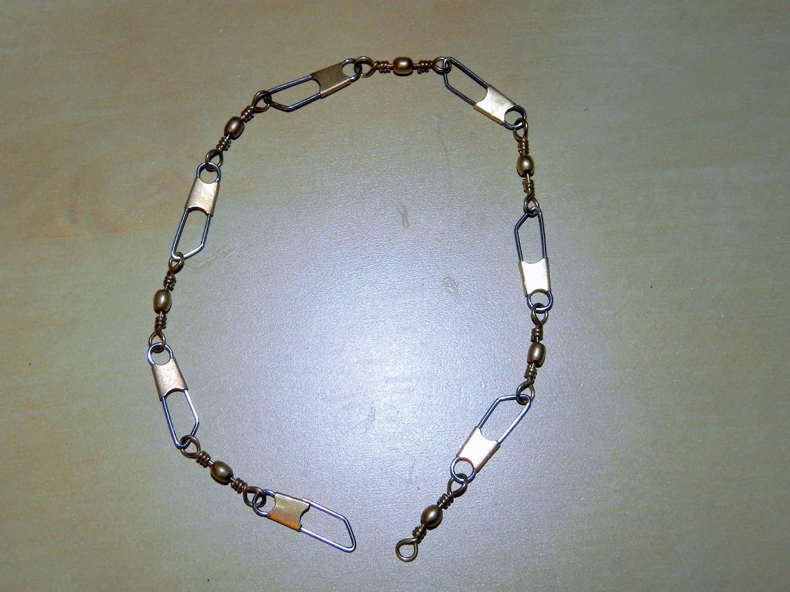 Smart N Snazzy Diy Dainty Bracelet Using Fishing Swivel Links