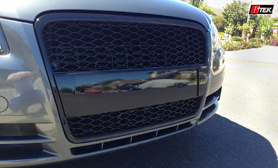 newly installed grille