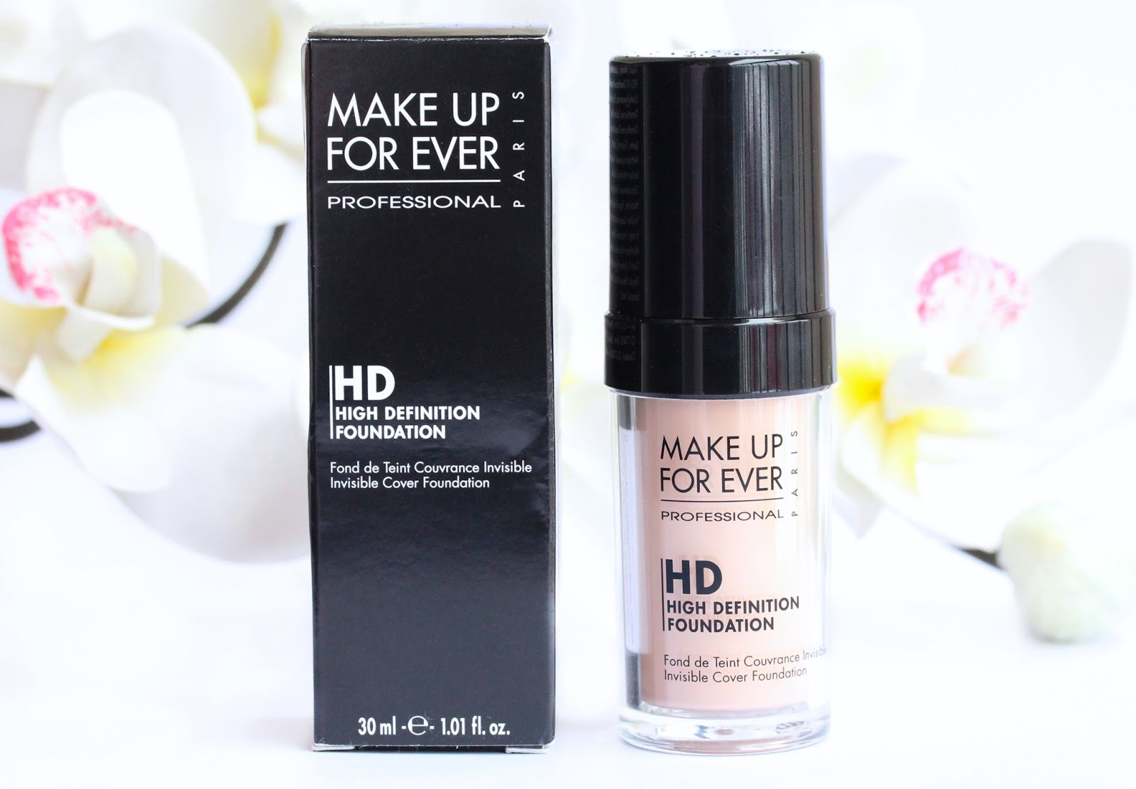Make Up For Ever HD Invisible Cover Foundation in N115 Ivory