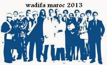 emploi maroc 2013