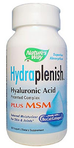 Hydraplenish with MSM - BioCell Collagen ll, Nature's Way