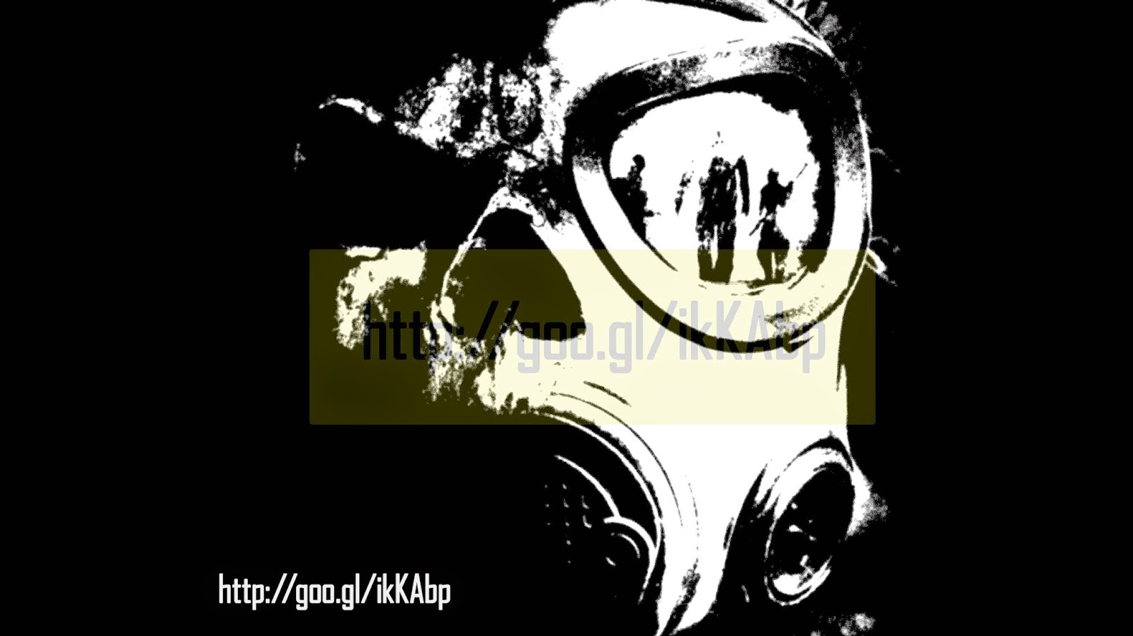Graffiti Stencils Gas Mask - MMORPG Video Game