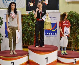 Kinga Szlachcic, Leszno, light contact, treningi Zielona Góra