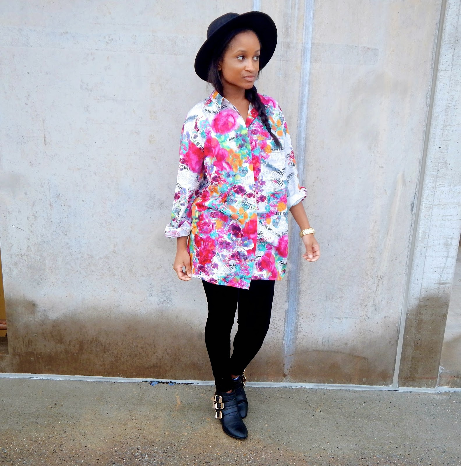 How to Wear Florals in the Fall