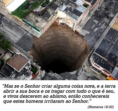 CRATERAS MISTERIOSAS SE ABREM AO REDOR DO MUNDO