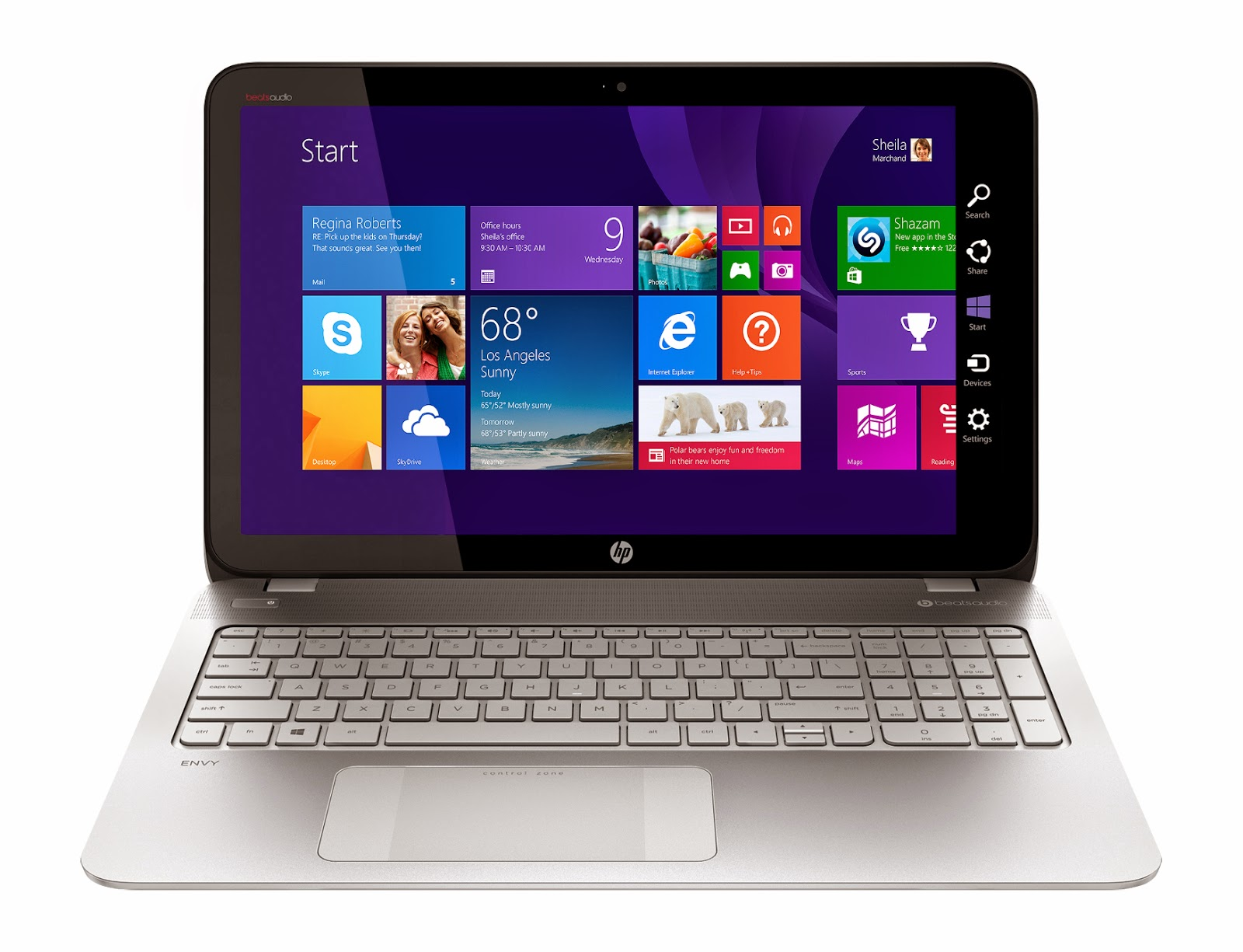 Best Buy has the New HP Envy Touchsmart Laptop