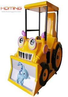 Bulldozer kiddie rides,arcade kiddie rides