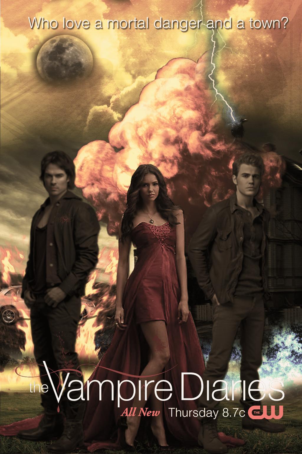 download series The Vampire Diaries S07E20 Kill 'Em All