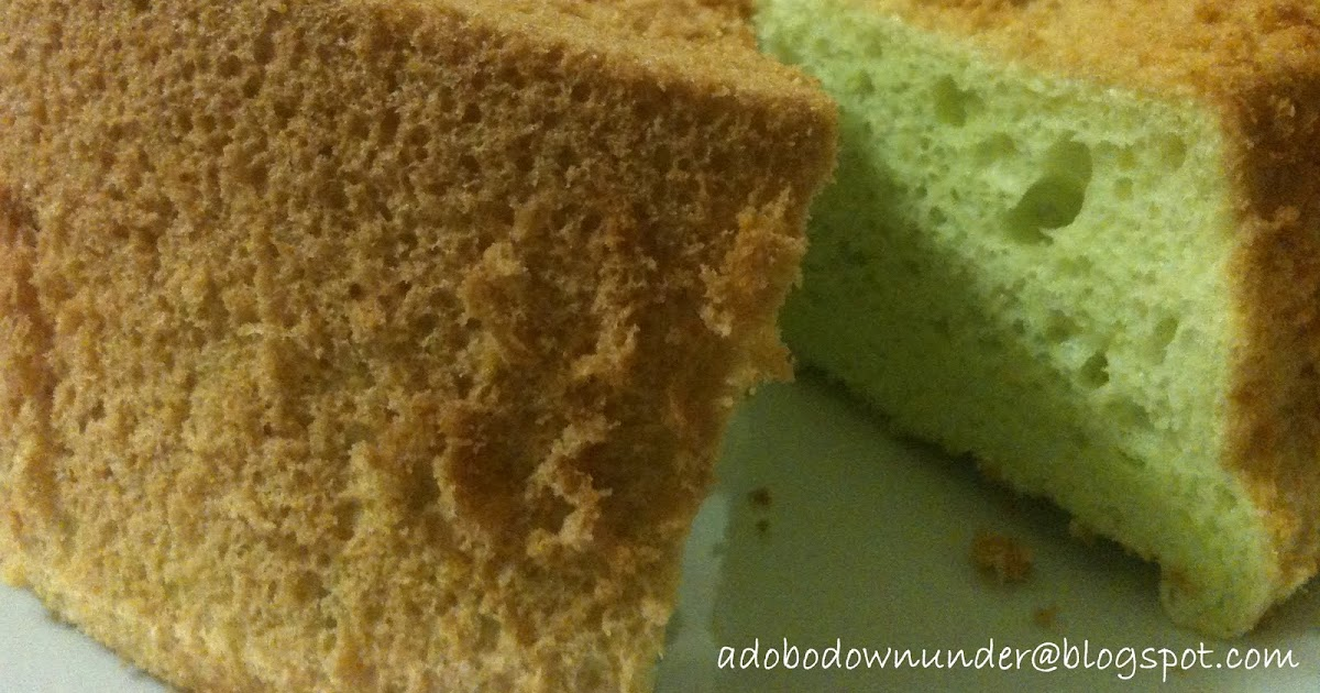Pandan Cake Recipe Masterchef
