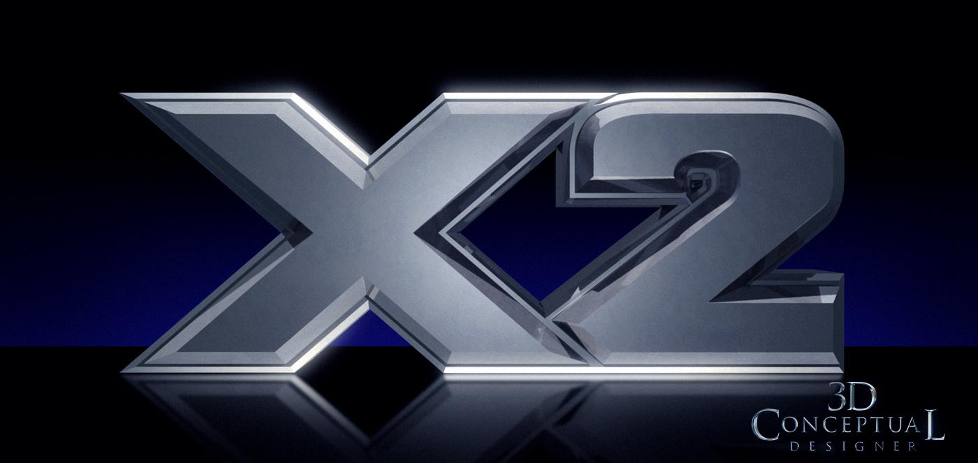 The top X-Men 3D...Y Logo 3d