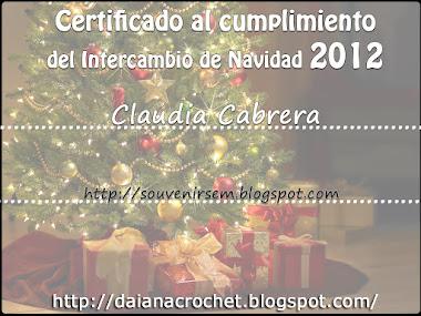 Certificado inter Daiana 2012