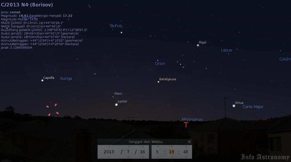 Mendekati Bumi, Komet ini Ditemukan Astronom Amatir