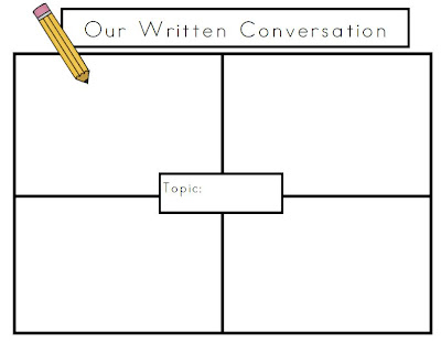 Friends~The 7 Structures of Best Practice Teaching is My Go to Book Right Now  and a Free PDF of my Written Conversation template, photo of