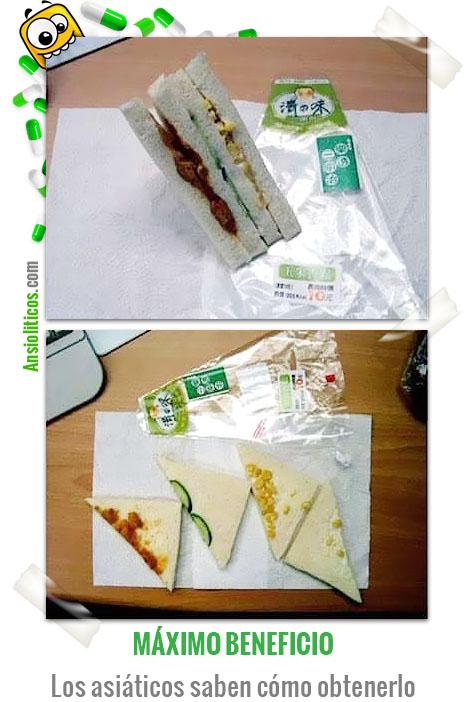 Chiste de Comida Sandwiches Low Cost