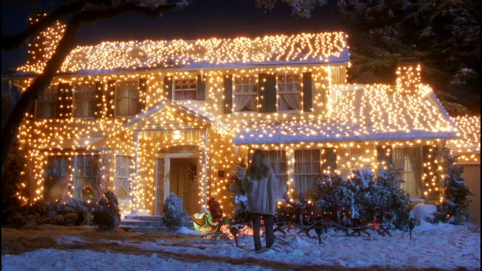 christmas film house lights
