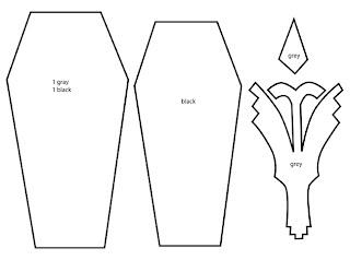 Blood+ Hagi inspired felt pouch template Bubs B4Astudios