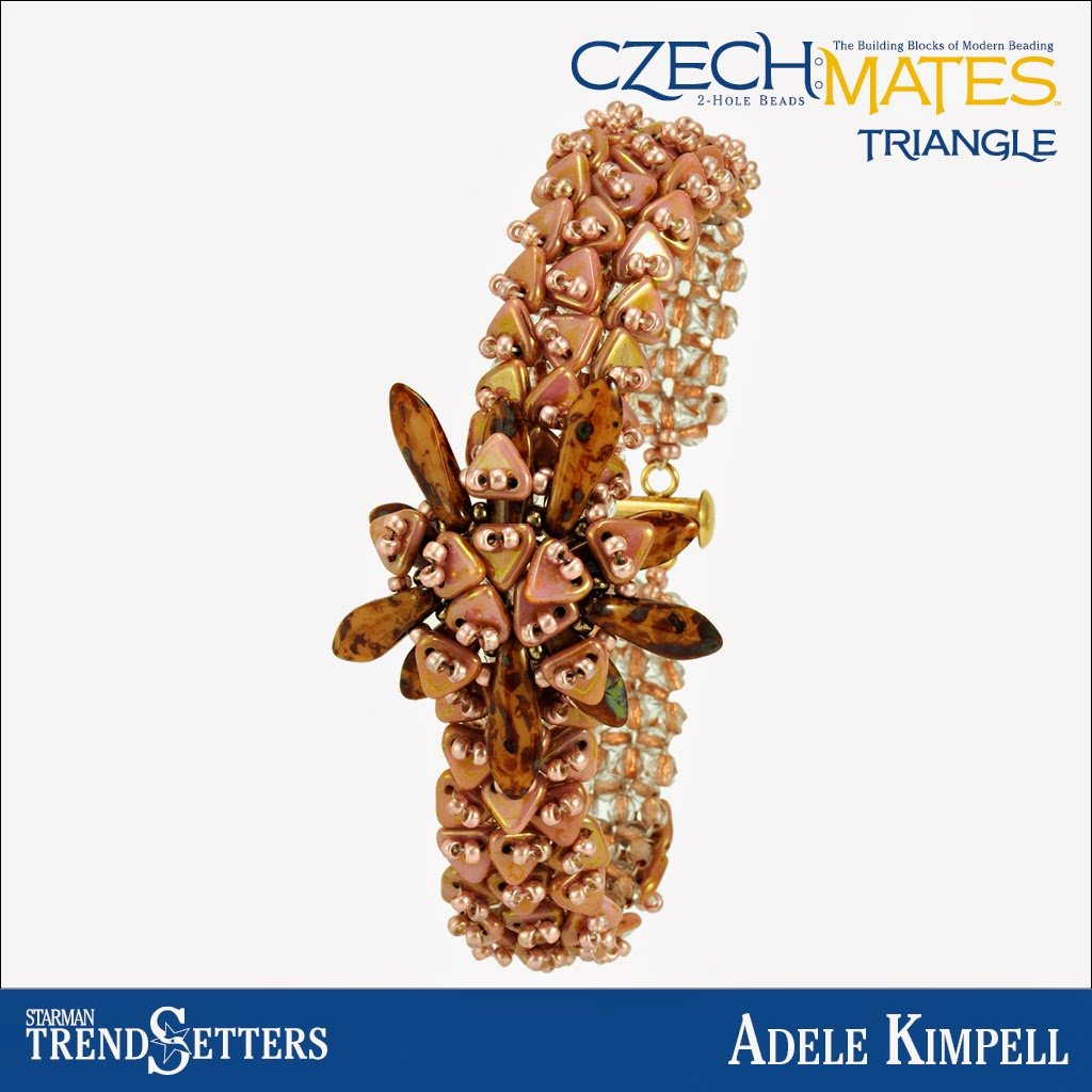 CzechMates Triangle/Dagger bracelet by Starman TrendSetter Adele Kimpell