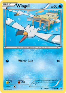Wingull Roaring Skies Pokemon Card