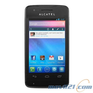 Alcatel One Touch 4030D Pop S Dual Sim Negro