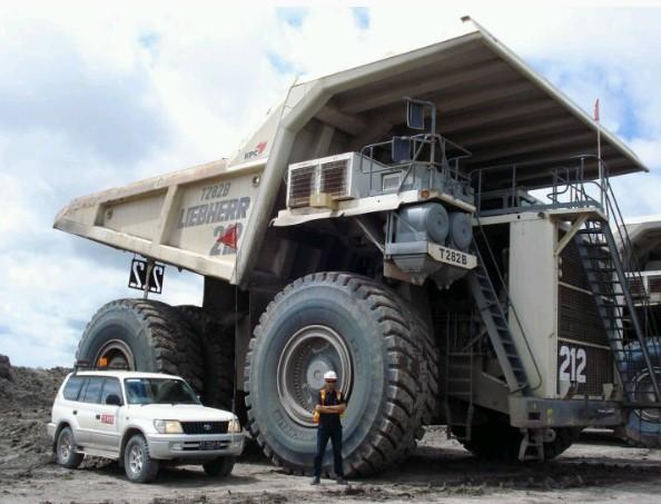 10 jenis alat berat terbesar di dunia alat berat - Foto di grandi camion ...