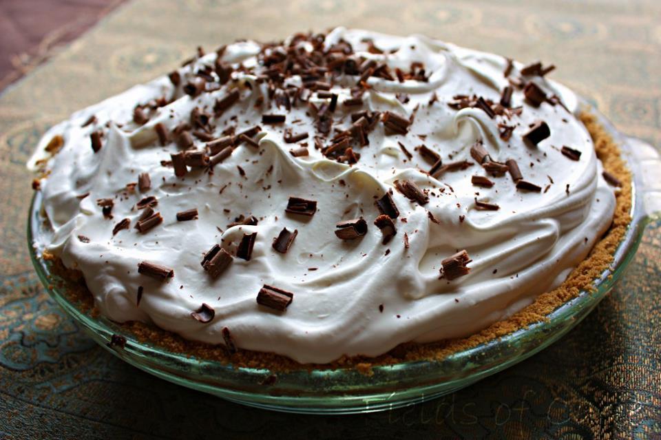 Moms Pantry: Chocolate Dream Whip Pie with Grandma's Secret Twist
