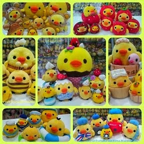 CLICK to see Collections of Rilakkuma Kiiroitori By Theme