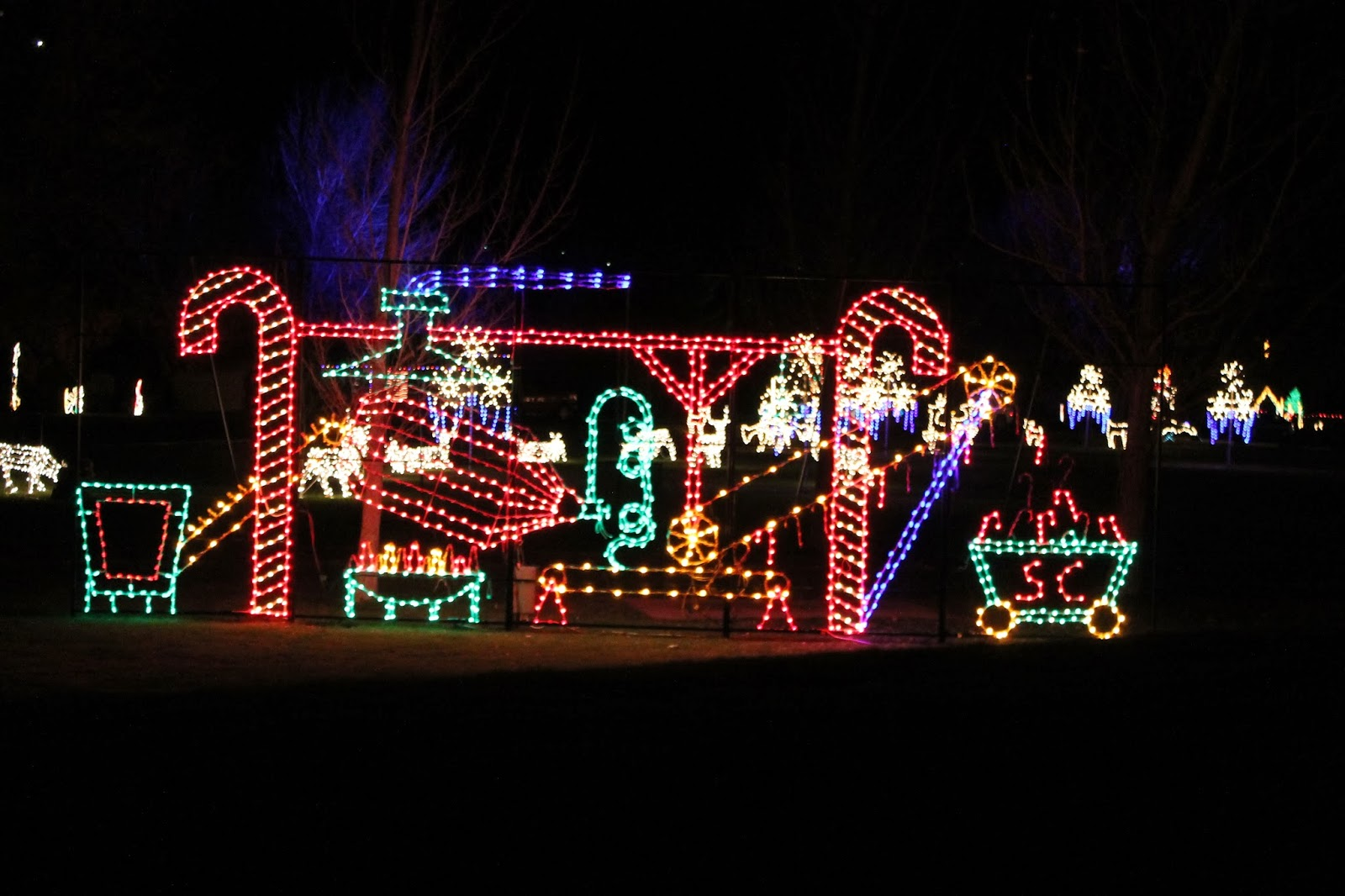 21st annual spanish fork festival of lightsenjoy a favorite local tradition as you drive through the animated festival of lights everyone will love seeing - Spanish Fork Christmas Lights
