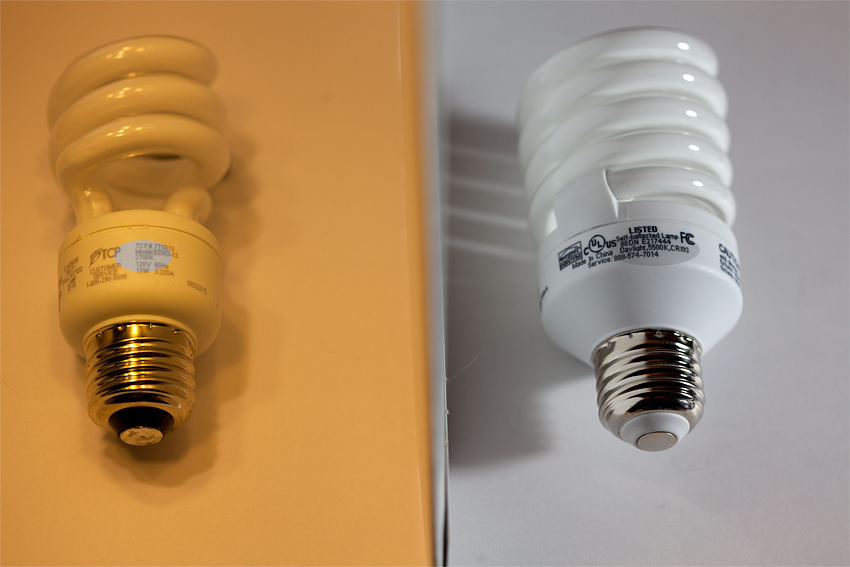 Nuncketest: Fluorescent Light Comparison