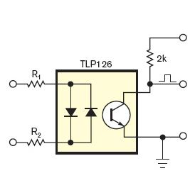 zero crossing detection with any microcontroller, optical isolation provided by optocoupler