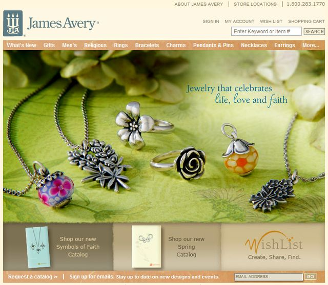 Religious Jewelry by James Avery