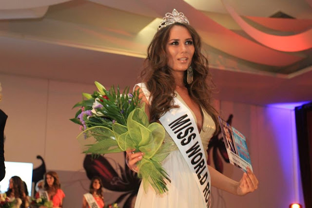 Miss World Romania 2013 Andrea Chiru